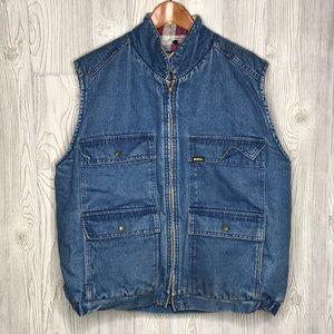 OshKosh B'gosh Jeans Vintage Denim Insulated Vest